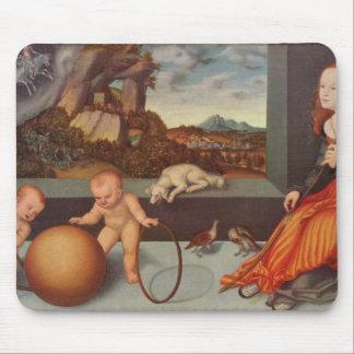 Lucas Cranach la más vieja melancolía Tapete De Ratones