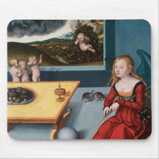 Lucas Cranach la más vieja melancolía Alfombrillas De Raton