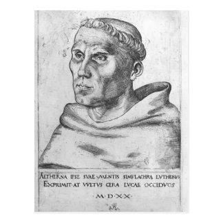 Lucas Cranach the Elder- Martin Luther as a Monk Postcard
