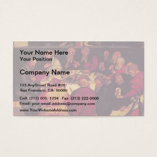 Lucas Cranach the Elder- The Last Supper Business Card