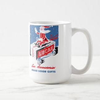 Lucas Electonics of Britain christmas Coffee Mug