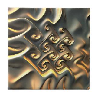 Luca's gold Tile