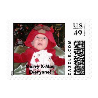 ¡Lucas noviembre de 2006 - 49, feliz Navidad cada Timbre Postal