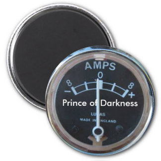 Lucas, Prince of Darkness 2 Inch Round Magnet
