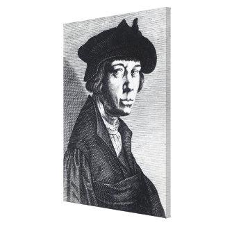 Lucas van Leyden Stretched Canvas Prints