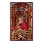 Lucas van Leyden - Maria with the child Poster