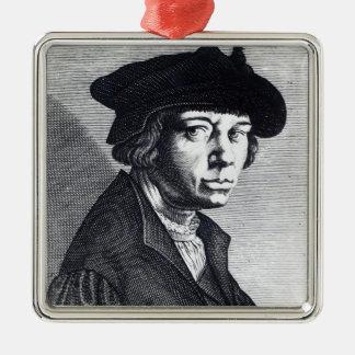Lucas van Leyden Metal Ornament