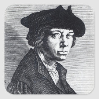 Lucas van Leyden Square Sticker