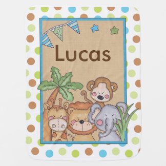 Lucas's Jungle Blanket