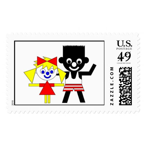 Lucca and Sam Stamps