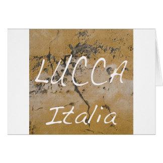 Lucca Italia wall.jpg Card