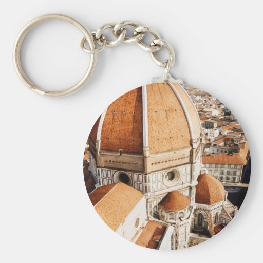 """""""Luce di Firenze"""" The Duomo Italy Watercolor Keychains"""