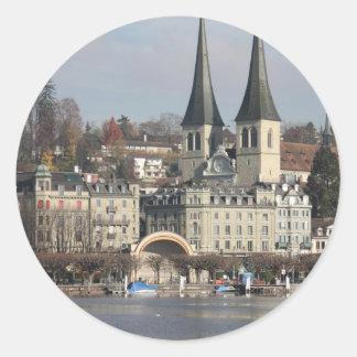 Lucern Switzerland Sticker