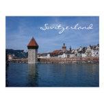 Lucerna, Suiza-Postal