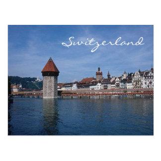 Lucerna Suiza-Postal