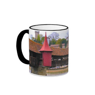 Lucerne, chapel bridge, a medieval bridge ringer coffee mug