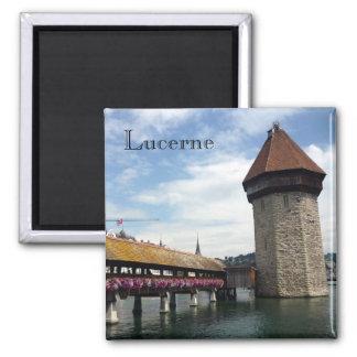 lucerne chapel bridge refrigerator magnet