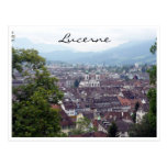 lucerne city view post card