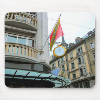 Lucerne - Giant sized pocket watch Mouse Pad