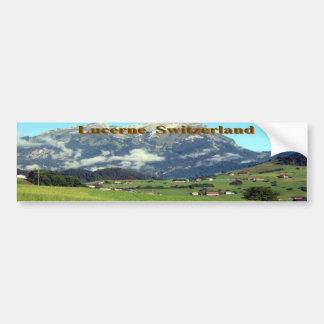 Lucerne, Switzerland Bumper Sticker