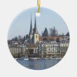 Lucerne Switzerland Christmas Ornament