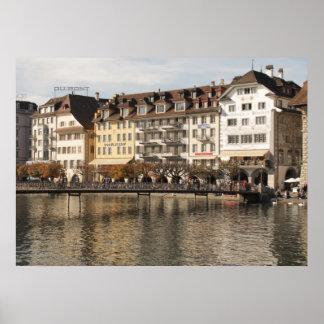 Lucerne Switzerland Print