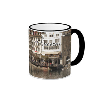 Lucerne Switzerland Ringer Mug