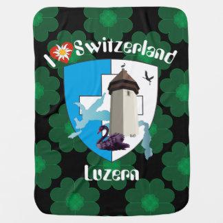 Lucerne Switzerland Switzerland baby cover Baby Blanket