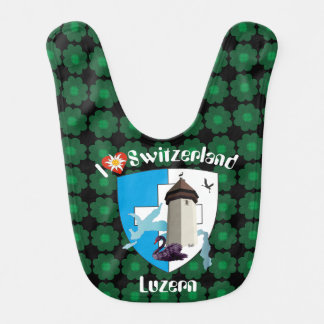Lucerne Switzerland Switzerland Lätzchen Baby Bib