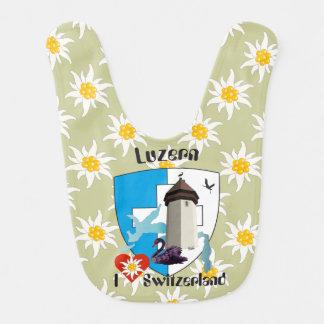 Lucerne Switzerland Switzerland Lätzchen Bib