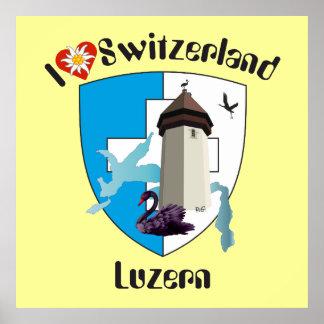 Lucerne Switzerland Switzerland poster