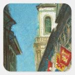 Lucerne Tower Square Sticker