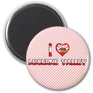 Lucerne Valley, CA Fridge Magnet