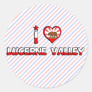 Lucerne Valley CA Stickers