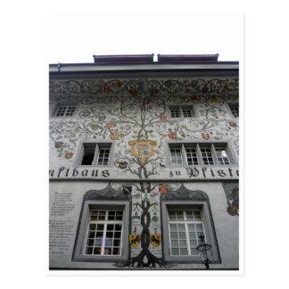 lucerne zunfthaus postcard
