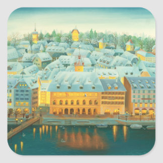 Lucernenis 2001 square sticker