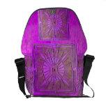 LUCERO DEL ALBA, púrpura, violeta Bolsa De Mensajeria