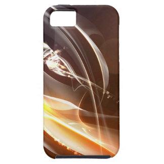 Luces abstractas de la firma de los cristales iPhone 5 Case-Mate protector