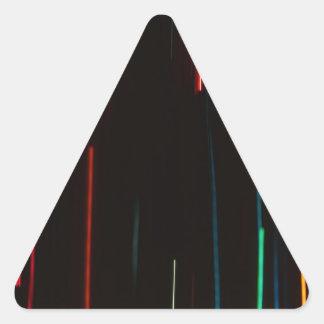 Luces abstractas del movimiento pegatina