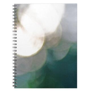 Luces abstractas libros de apuntes