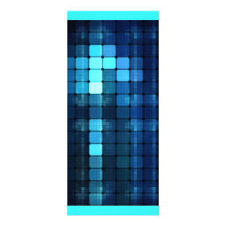 Luces azules plantillas de lonas