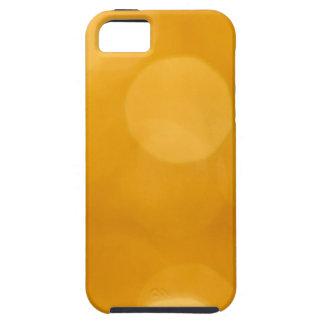 Luces borrosas del oro funda para iPhone SE/5/5s