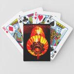 Luces chinas de la linterna del Año Nuevo Baraja Cartas De Poker