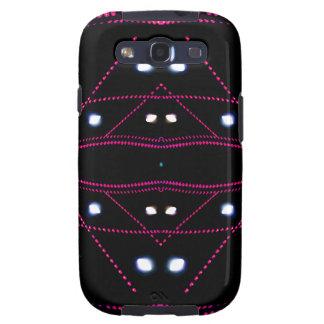 Luces corrientes - futurismo urbano de vida samsung galaxy s3 fundas