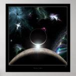 Luces cósmicas poster