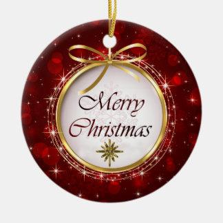 Luces de Bokeh del ornamento del árbol de navidad Ornamento De Reyes Magos