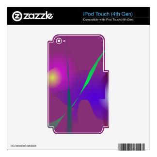 Luces de calle calcomanías para iPod touch 4G