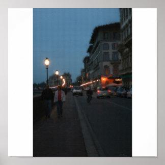 Luces de Florencia Póster