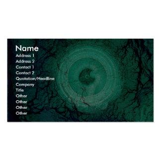 Luces de giro del arte de la alcantarilla tarjetas de visita