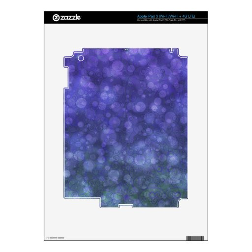 Luces de hadas VI iPad 3 Pegatinas Skins